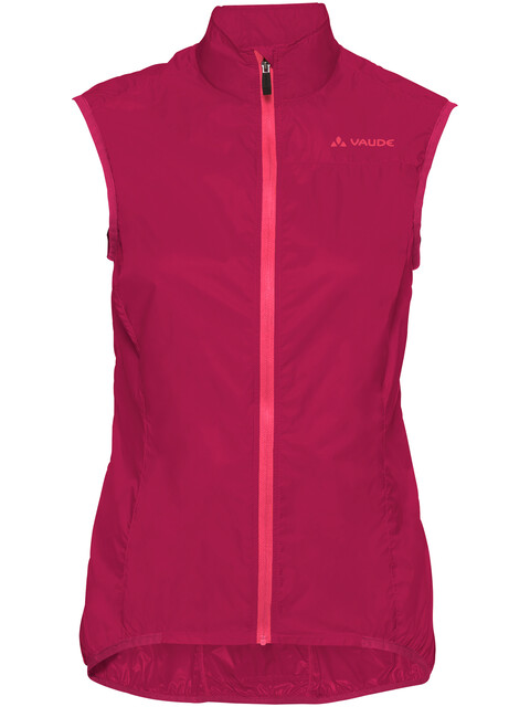 VAUDE Air III Vest Women crimson red